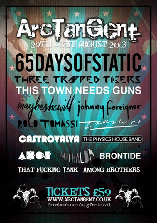 ArcTanGent Festival completes 2014 line-up