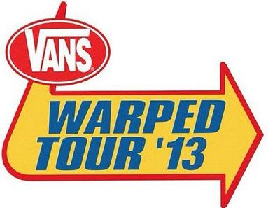 Vans Warped tour UK reveal day splits