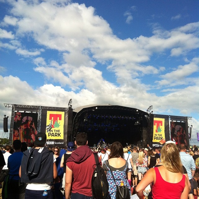 Bastille on the main stage at #titp2014