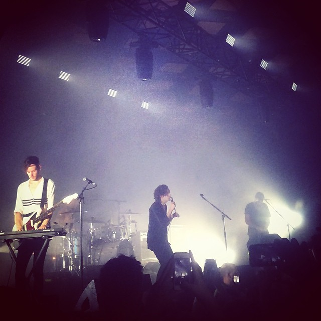 #the1975 in Glasgow