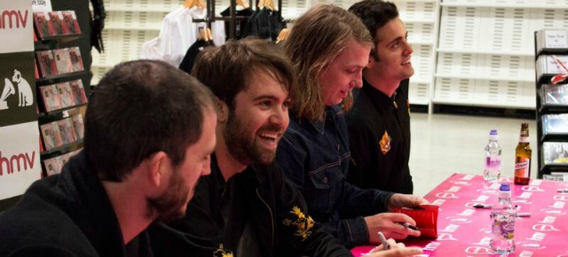 Photography | The Vaccines | HMV Leeds