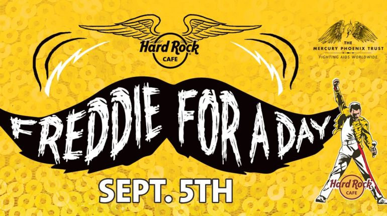 Freddie For A Day - Hard Rock Cafe Edinburgh - Love Music; Love Life